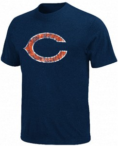 Chicago Bears Vintage Logo 3 Short Sleeve T Shirt by VF