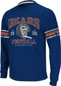 Chicago Bears Youth Applique Top by Reebok