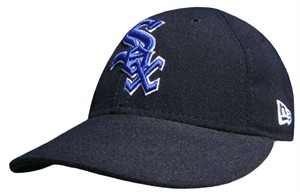 Chicago White Sox Black MLB Fitted Cap By New Era