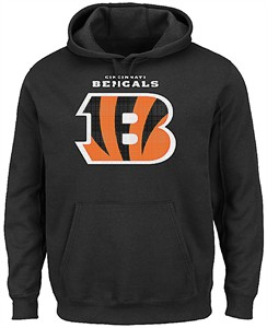 Top Cincinnati Bengals Black Majestic Pullover Critical Victory 2 Hoodie  free shipping