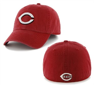 Cincinnati Reds Fitted Franchise Home Cap by 47 Brand