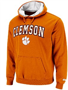 Clemson Tigers Embroidered Automatic College Hooded Sweatshirt By