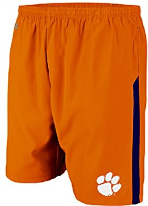 Clemson Tigers Performance Dry Rush Training Shorts by Colosseum