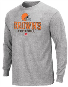 e41af1728 Cleveland Browns Long Sleeve T Shirt by VF-Critical Victory V ...