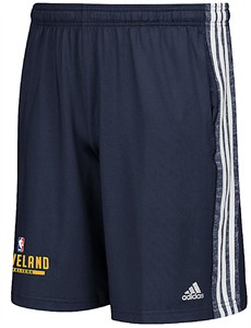 Cleveland Cavaliers Navy Climalite Enough Said Practice Shorts by Adidas