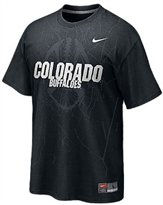 Colorado Buffaloes Nike  College Football Practice T Shirt-Black On Sale