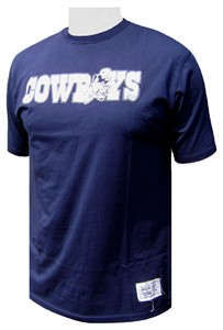 1d1aad467 The Dallas Cowboy Joe s Blue tee has an Athletic cut and is made of 100%  soft cotton