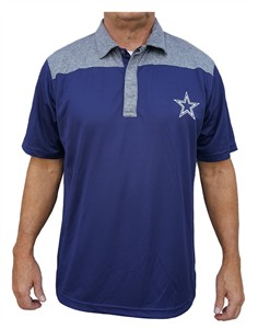 1fc43144 Dallas Cowboys Mens Gaspar Synthetic Polo Shirt | Dallas Cowboys View All  Apparel