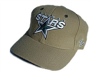 Zephyr Dallas Stars Khaki NHL Sized Cap
