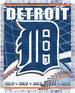 "Detroit Tigers 48"" X 60"" MLB Blanket By The Northwest Company"