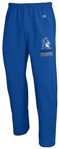 Duke Blue Devils Adult Royal Open Bottom Powerblend Sweatpants by Champion