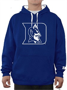 Discount Duke Blue Devils Mens Royal Embroidered Icon Hoodie Sweatshirt  for cheap