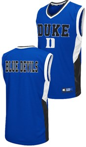 Duke Blue Devils Mens Royal Fadaway Embroidered Basketball Jersey by Colosseum