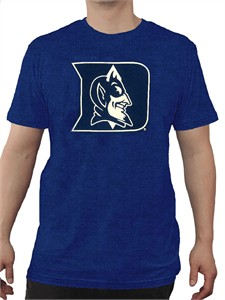 Duke Blue Devils Mens Royal Slim-Fit Crossover Move T Shirt