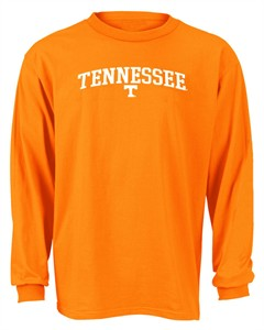 Tennessee Volunteers Youth NCAA Long Sleeve Tee Shirt By Adidas
