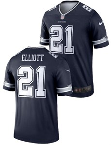 d63eabb21 NFL   Dallas Cowboys   Dallas Cowboys View All Apparel   Ezekiel Elliott Dallas  Cowboys Nike Legend Football Jersey