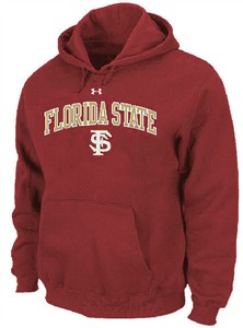 Florida State Seminoles Performance ColdGear Hooded Sweatshirt by Under Armour