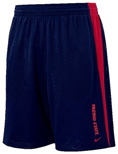 Fresno State Bulldogs College Varsity Mesh Shorts By Nike Team Sports