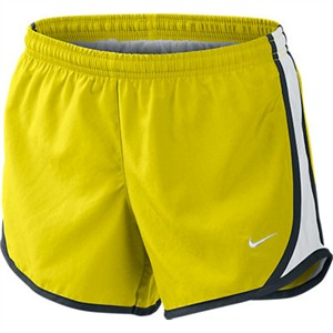 2161a2f6dd2 Girls Electrolime Yellow Tempo Short by Nike | Girls