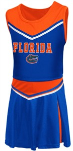 Girls Toddler Florida Gators Royal Aerial Cheer Set