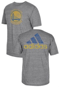 Golden State Warriors Mens Grey Vintage Short Sleeve T Shirt