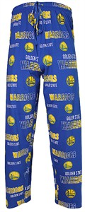 Golden State Warriors Men's Royal Sweep Pajama Pants by Concepts Sports