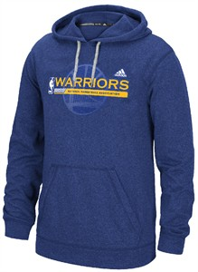 online store 5624a 9752a Golden State Warriors Adidas Climawarm Hoodie Sweatshirt ...