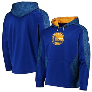 Golden State Warriors Royal Armor 5 Majestic Polyester Hoodie Sweatshirt on Sale