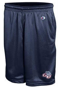 Gonzaga Bulldogs Men's Navy Poly Mesh Workout Shorts