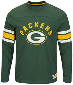 new product 2a918 34847 Green Bay Packers Adult Green Power Hit 2 Long Sleeve T ...