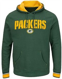 huge discount ebbc2 c884b Green Bay Packers Green Tackle Twill Majestic Championship ...