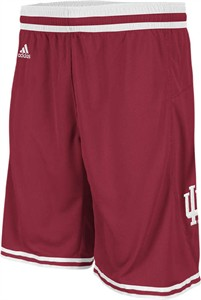 Indiana Hoosiers Crimson Point Guard Replica Basketball Shorts by Adidas