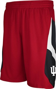 Indiana Hoosiers Crimson Embroidered Icon Shorts By Adidas