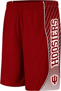 Indiana Hoosiers Sublimated Radiant Shorts by Adidas
