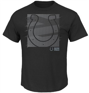 Indianapolis Colts Mens Black Right Direction Short Sleeve T Shirt