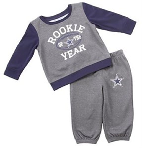 Infant Dallas Cowboys Buster Polyester Set