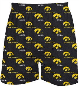 Iowa Hawkeyes Mens Prospect Boxer Shorts by Concepts Sports