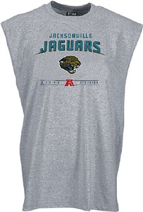 Jacksonville Jaguars Gray Sleeveless Critical Victory 4 Tee by VF