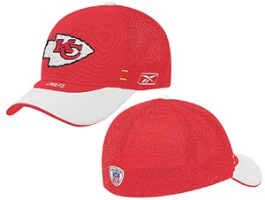 Kansas City Chiefs NFL Flex Fit  Cap By Reebok