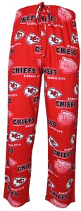 Kansas City Chiefs Mens Red NFL Fusion Pajama Pants by Concepts Sports