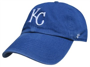 Kansas City Royals Fitted Franchise Home Cap by 47 Brand
