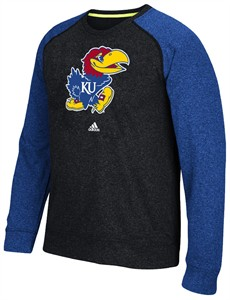 Kansas Jayhawks Ultimate Synthetic Preferred Crew by Adidas