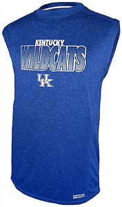 Kentucky Wildcats Royal Impact Sleeveless Shirt by Section 101