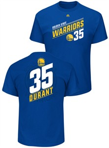 Kevin Durant Golden State Warriors Mens Royal 35 Possession T Shirt