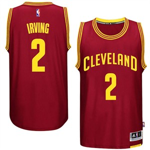 86658d7baa22 Kyrie Irving Youth Cleveland Cavaliers Wine Replica Basketball Jersey by  Outerstuff