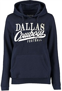 Ladies Dallas Cowboys Navy Remi Hoodie Sweatshirt