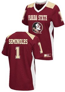 Ladies Florida State Seminoles Garnet Hail Mary College Football Jersey by Colosseum