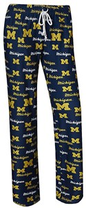 Ladies Michigan Wolverines Blue Recover Lounge Pants