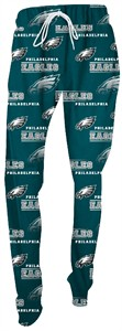 Ladies Philadelphia Eagles Green NFL Fusion Pajama Pants by Concepts Sports