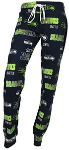 b431f34a Ladies Seattle Seahawks Navy Sweep Sleep Pants by Concepts Sports